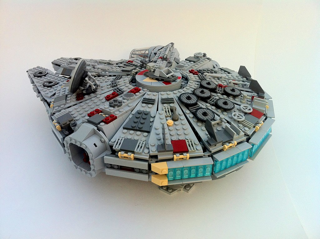 Lego Millenium Falcon Instructions 4504 Star Wars Episode 4 6