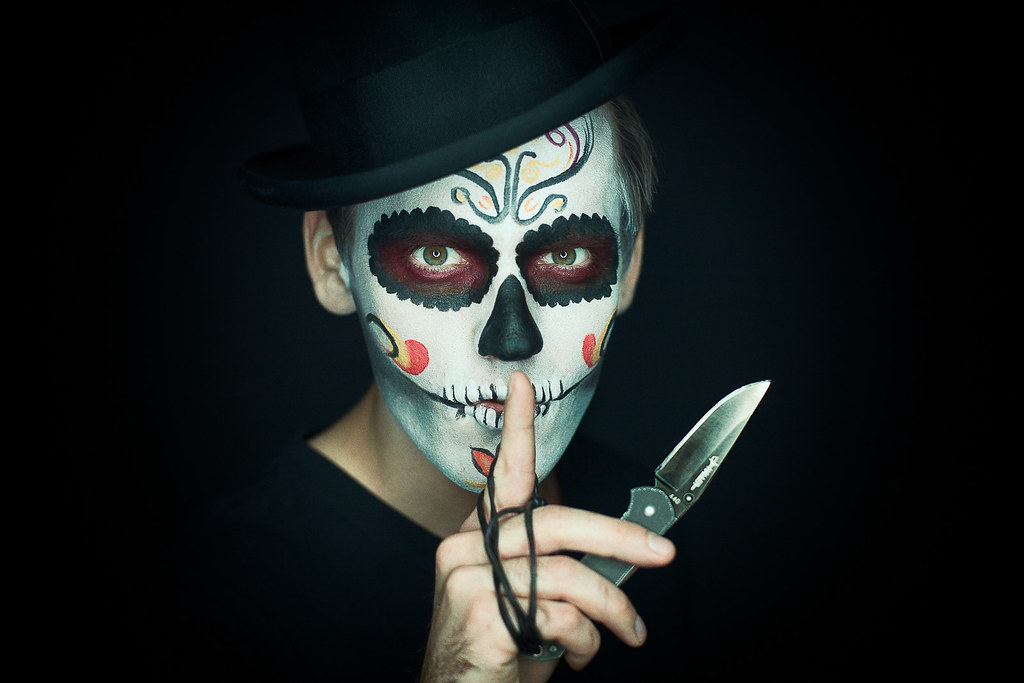 Hispanic Day Of The Dead Face Paint With Meaning
