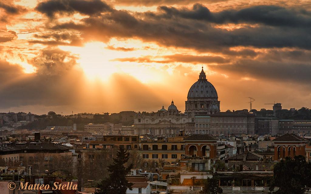 Foto Di Villa Borghese Di Notte