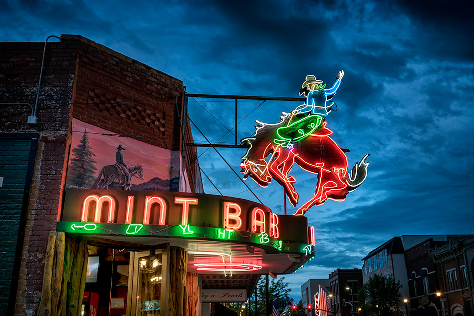 Mint Bar: Sheridan, Wyoming