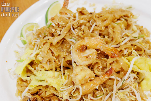 Pad Thai when mixed