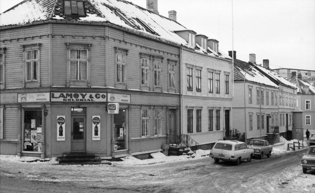 Lamøy & Co. Kolonial i Wessels gate 12 / Møllenberg (1970 ...