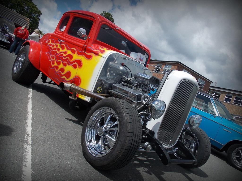 1932 Ford Model B Hot Rod Bexley Grammar School Car Show