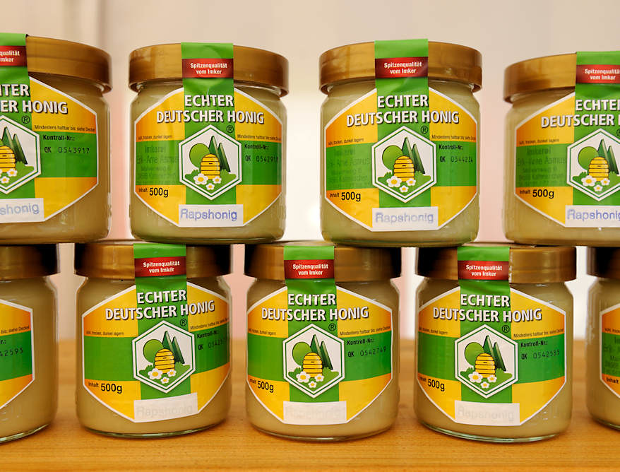 Honig Verkaufen