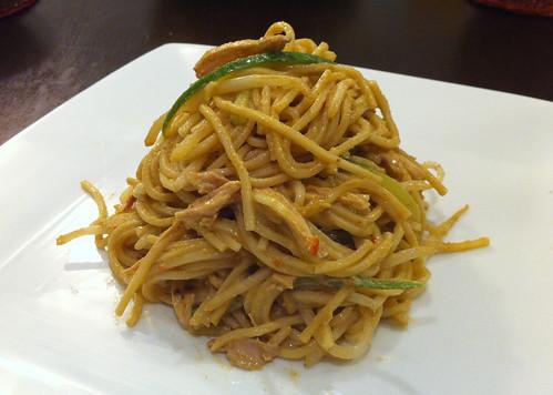 Sichuan-style cold sesame noodles