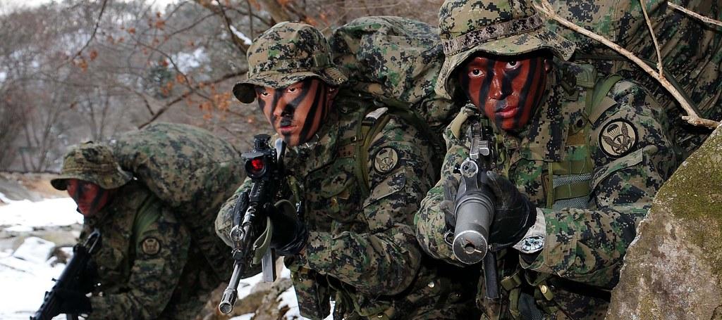 2014 2 12 육군 제1공수특전여단 혹한기훈련 The Cold Weather Training Of R