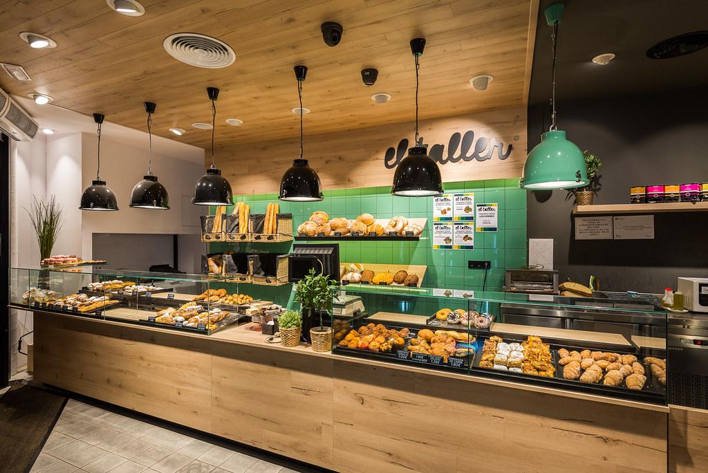 Reforma franquícia panadería El Taller