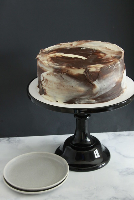 Streamlined Marble Cake