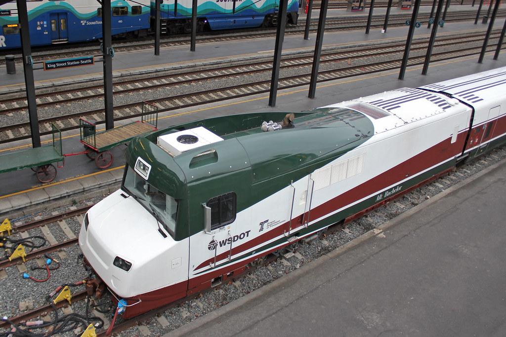 Amtrak Cascades Talgo Trainset The Cab Car Of A New