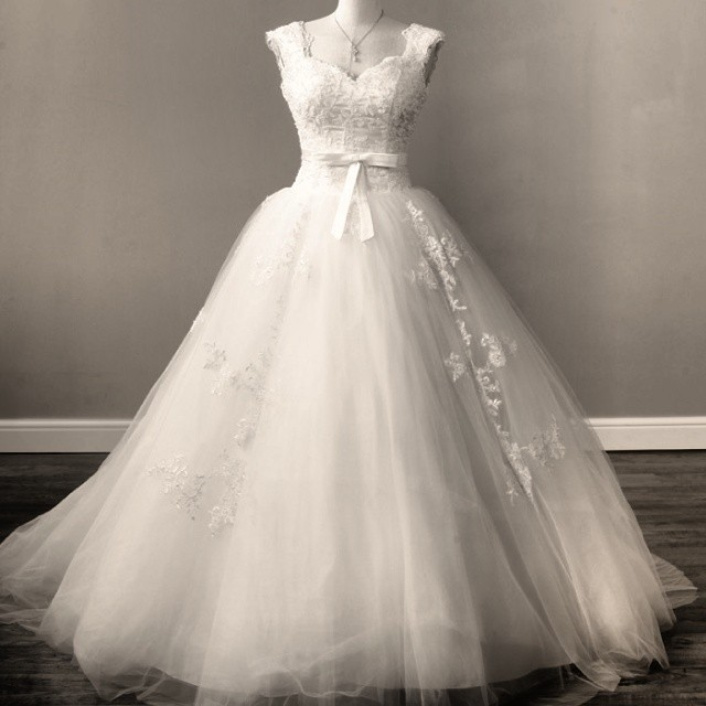 Wedding Dress By Famous Designer