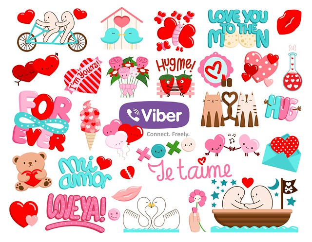 Viber s love stickers Flickr - Photo Sharing!