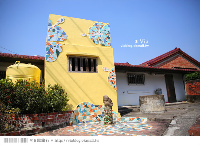 【台南後壁幾米】後壁土溝農村美術館‧農村就是美術館!幾米作品可愛現縱~8