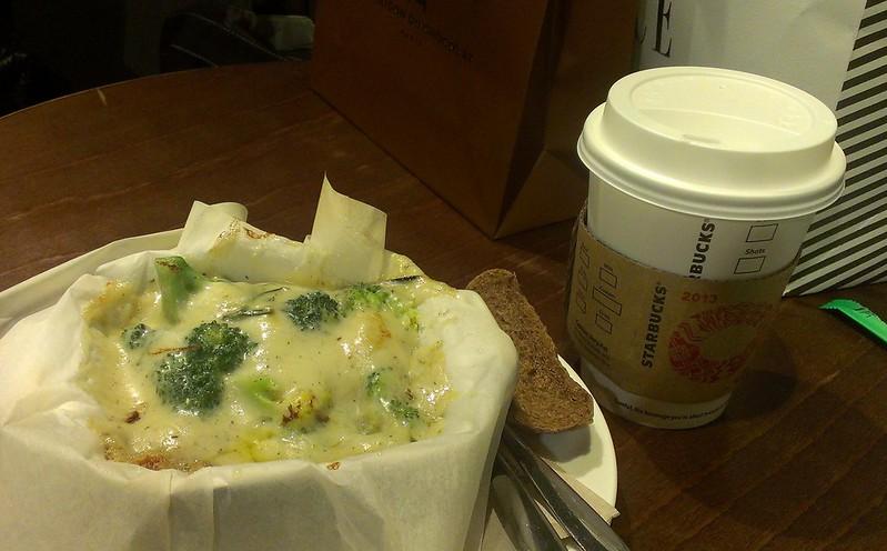 Milk and Alfredo Broccoli and New Potato Casserole