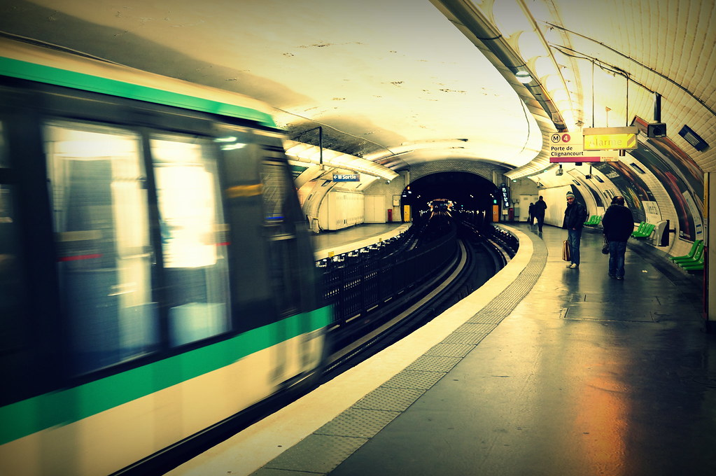Direction porte de clignancourt m tro 4 paris flickr - Metro porte de clignancourt ...