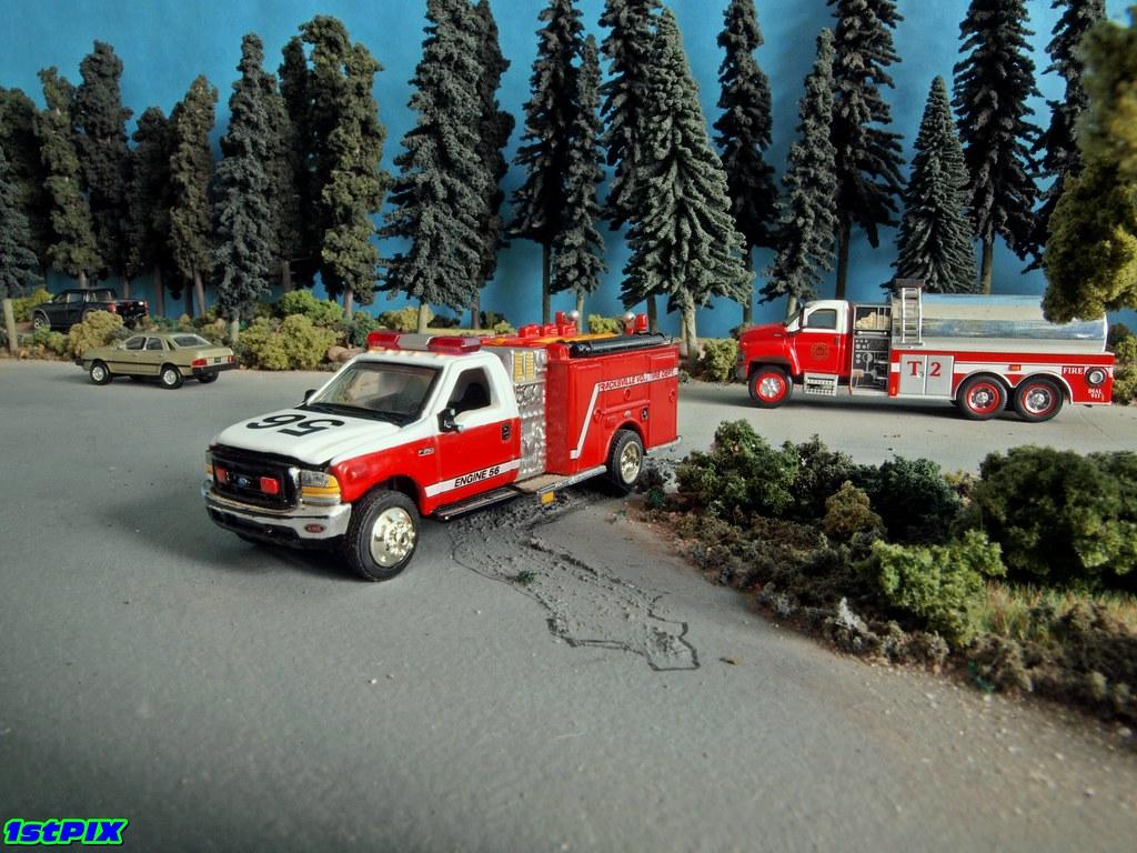 Matchbox Trucksville Pennsylvania Volunteer Fire Dept. Eng…   Flickr