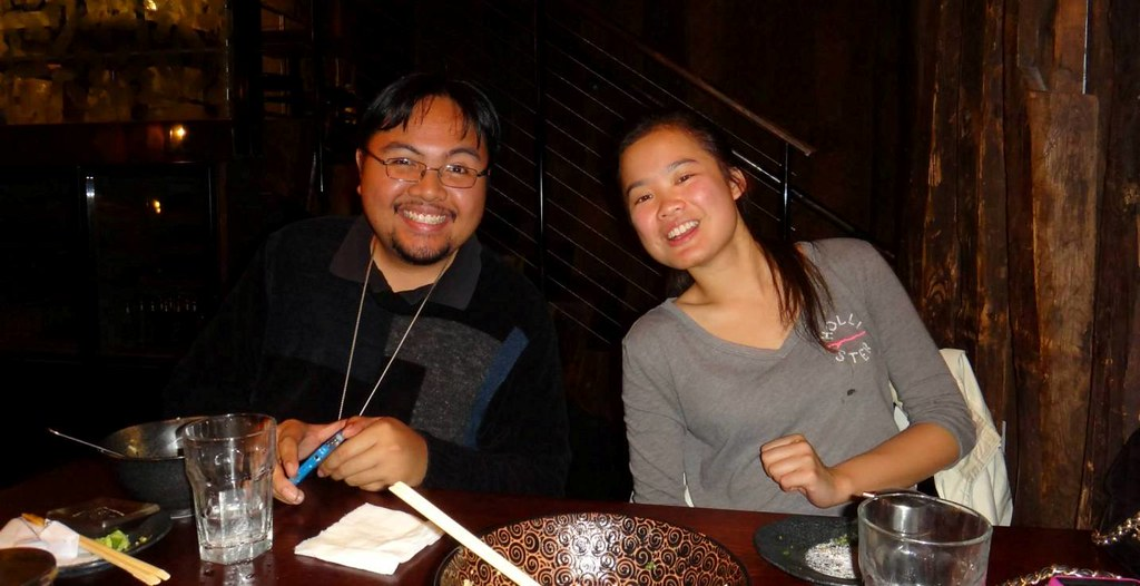 Me and Steffi At The Waraku Ramen Dining In SF (4-24-14) | Flickr ...