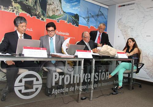 La revisión de las propuesta técnica de los postores estuvo a cargo del equipo técnico de ProInversión