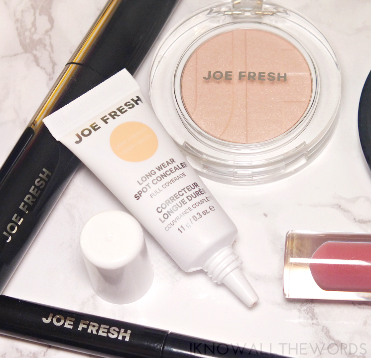 joe fresh beauty long wear spot concealer in light-medium