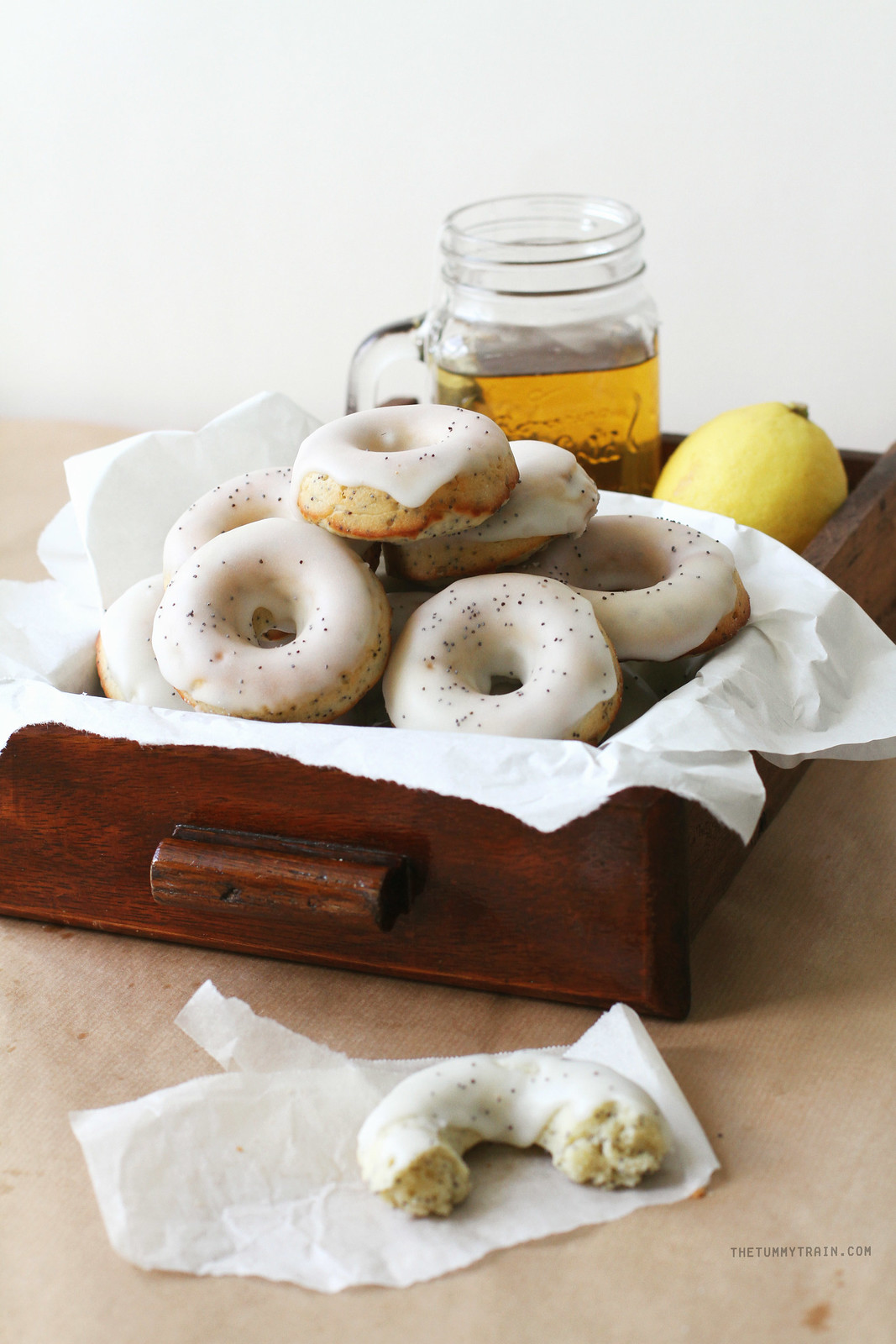 28115894446 f92890547c h - Digging out these Baked Lemon Poppyseed Doughnuts from my archives