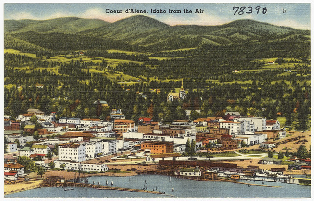 Coeur D 39 Alene Idaho From The Air Flickr Photo Sharing