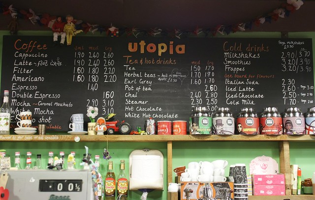 Cafe Utopia Coffee