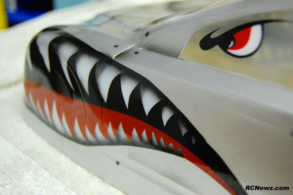 shark mouth rc touring car paint job this was an rc tourin flickr