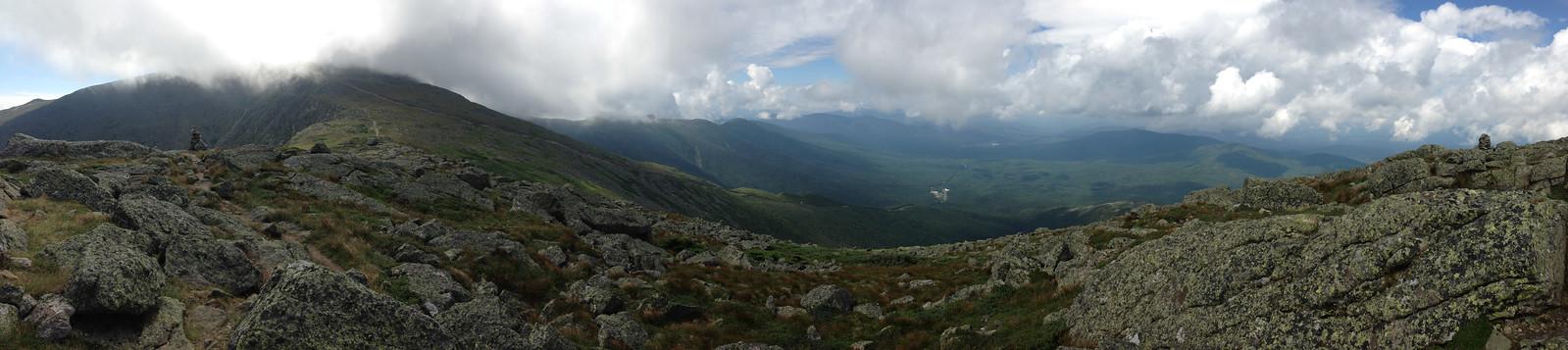 Gulfside trail panorama