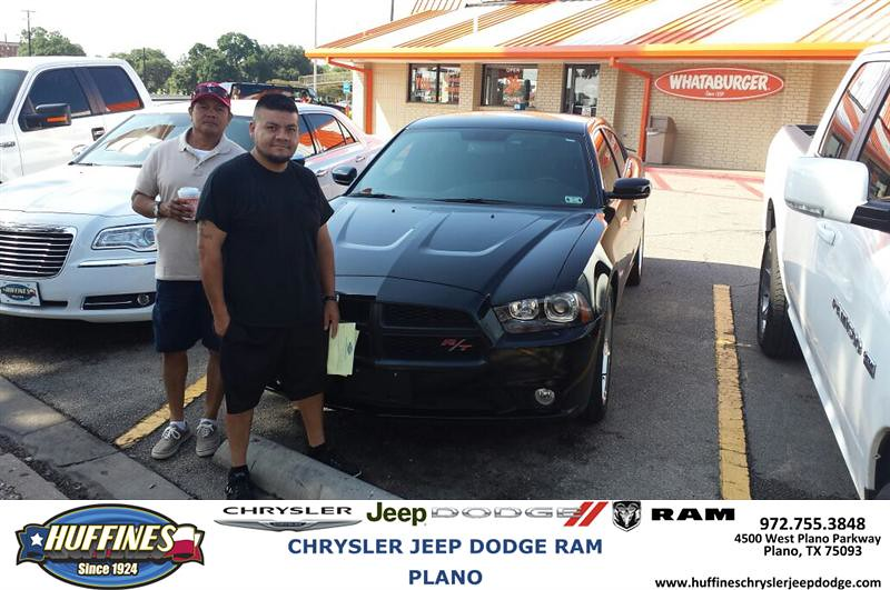 Thank you to Chris Vasquez on the Dodge from Malcolm Johns ...