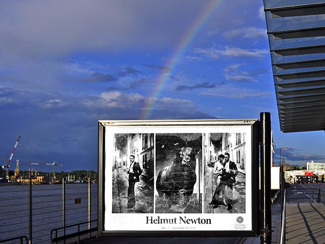 fotografiska helmut newton 4 a poster with a rainbow flickr. Black Bedroom Furniture Sets. Home Design Ideas