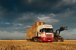 hauling straw, ross-shire, scotland 2010 | by Billy Lobban