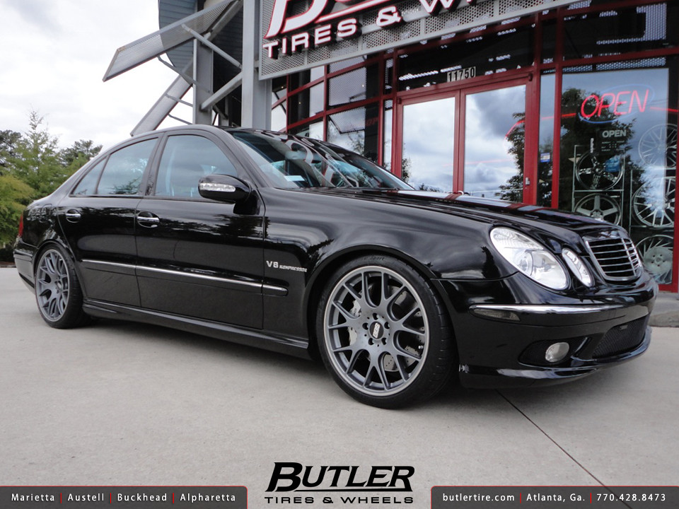 mercedes e55 with 19in bbs ch r wheels additional. Black Bedroom Furniture Sets. Home Design Ideas