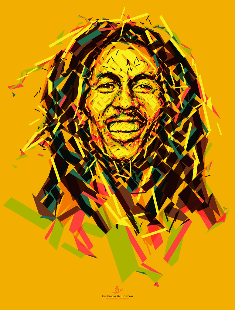 Wake up and live (An optimistic Bob Marley portrait) | Flickr