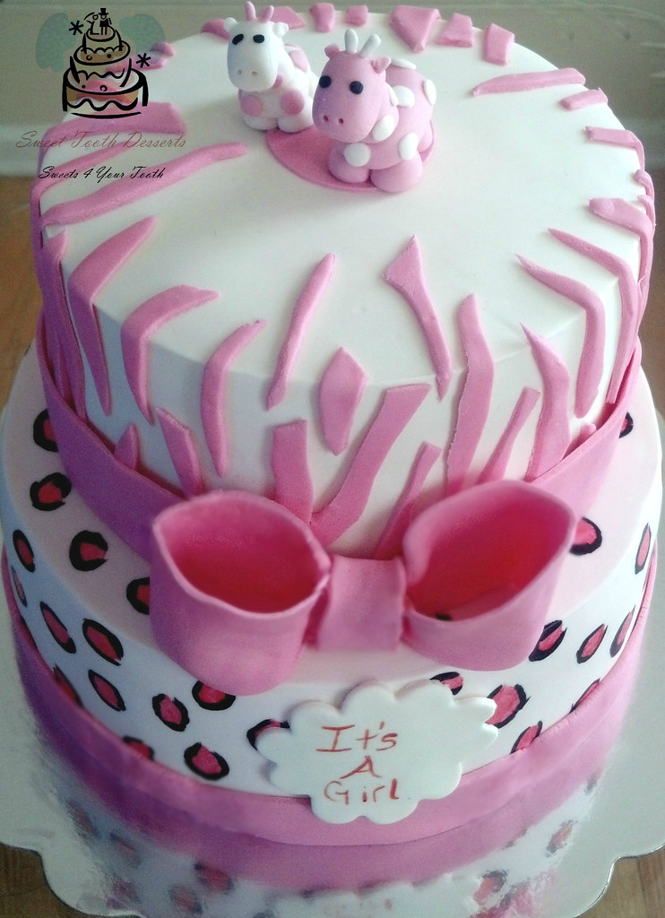 pink safari baby shower cake pink safari themed baby shower