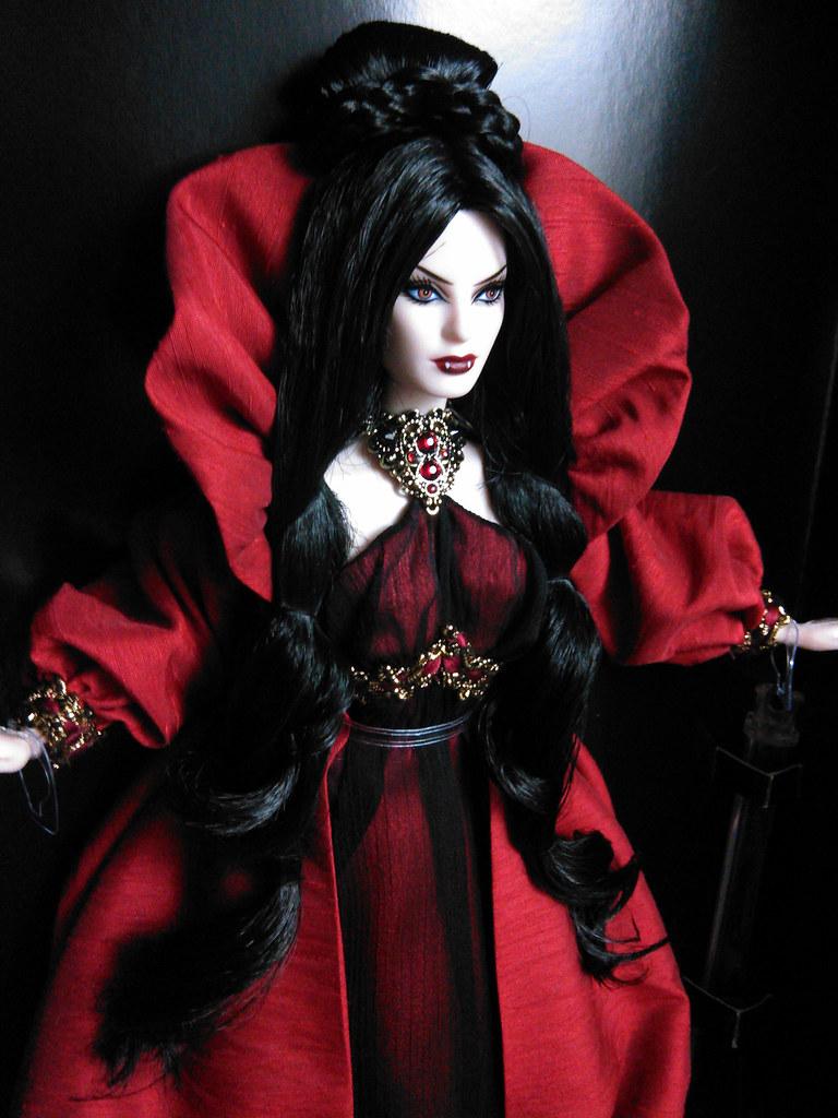 Haunted Beauty Vampire Barbie 174 Doll The Haunted Beauty