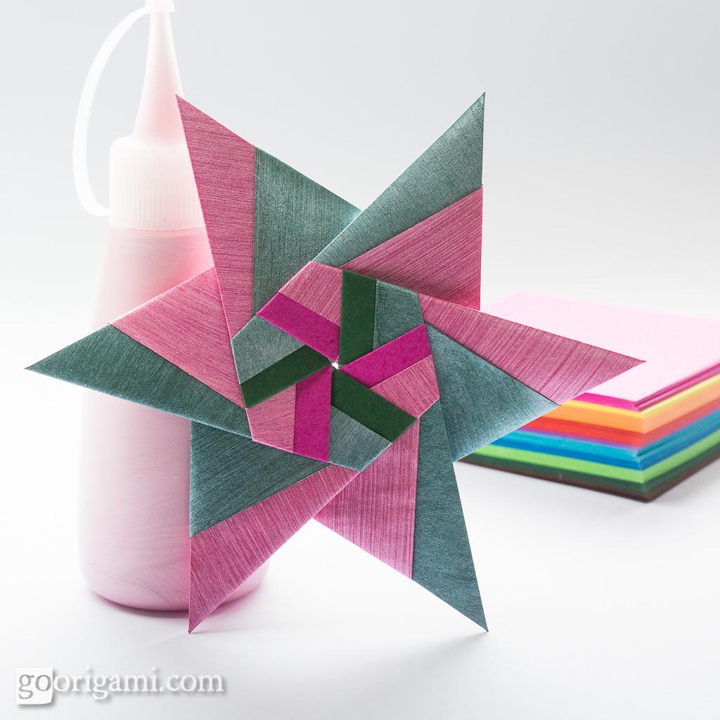 Modular Origami Star   Modular Origami Star (Maria ... - photo#28