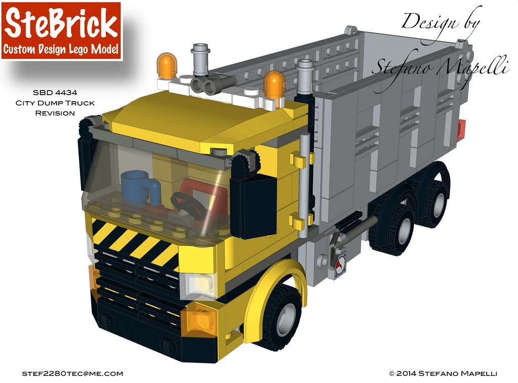 3 Sbd 4434 Mini Dump Truck Revision Design By Stefano Map Flickr