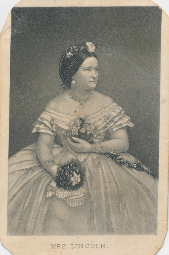Cdv Of Mary Todd Lincoln Quot Mrs Lincoln Published By