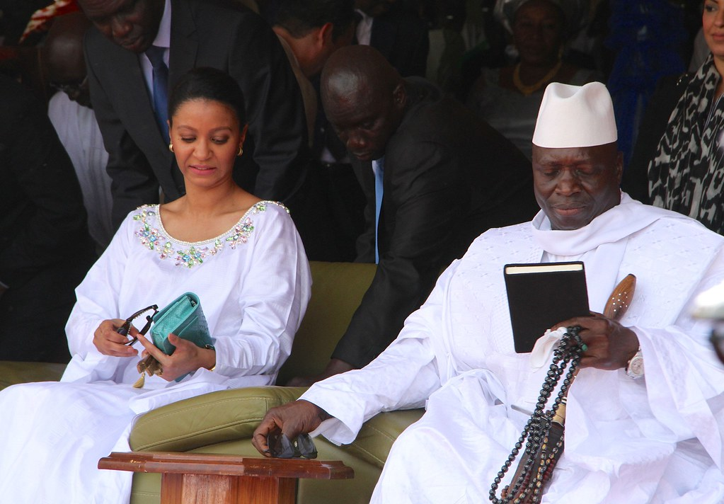 Zineb Yahya Jammeh Gambia's 50th Annivers...