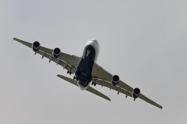 Airbus a380 au salon du bourget 2013 paris air show 2013 - Salon du bourget vdl ...