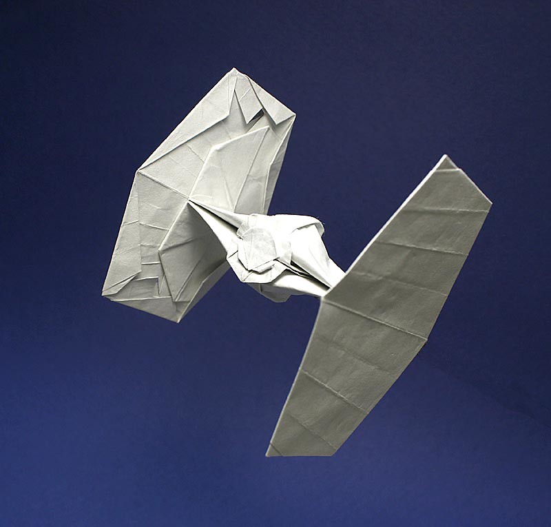 TIE Fighter origami New photo   My own design    1979    fish