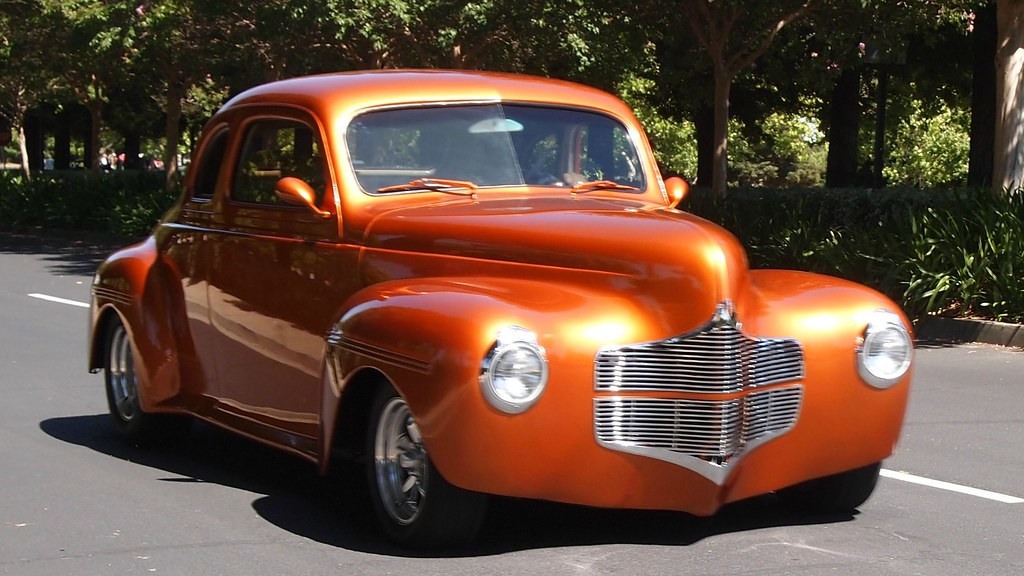 1940 Dodge Coupe Custom 5uww392 1 Photographed At