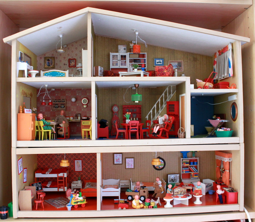 Lundby Dolls House From The 1970s Home Of The Lundbys