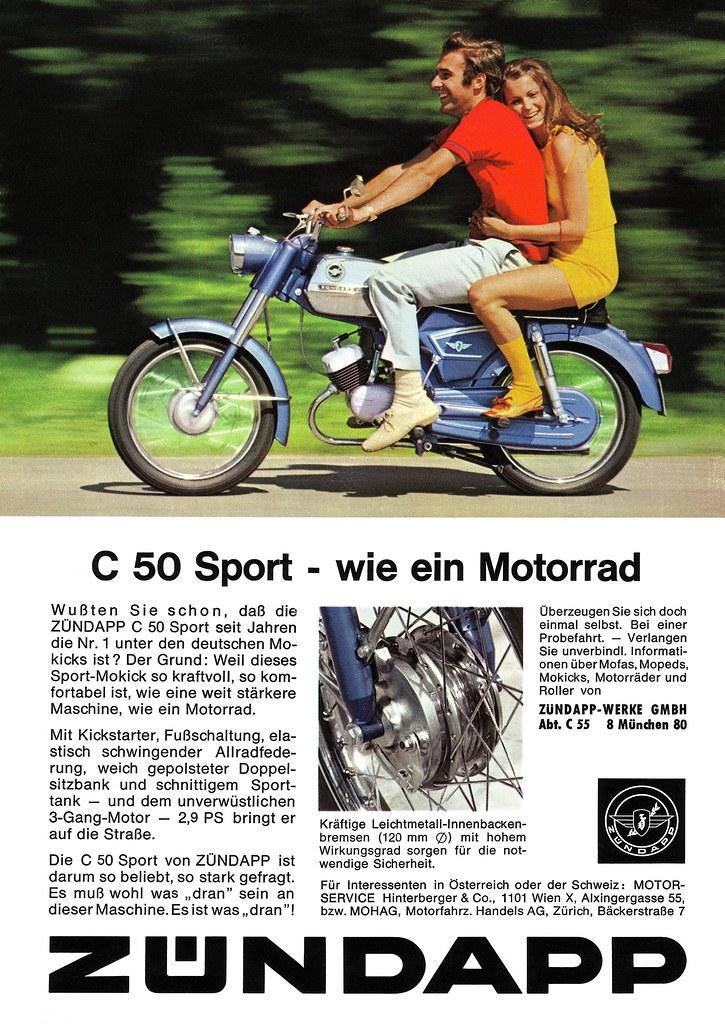 z ndapp c 50 sport 1970 wie ein motorrad c 50 sport flickr. Black Bedroom Furniture Sets. Home Design Ideas