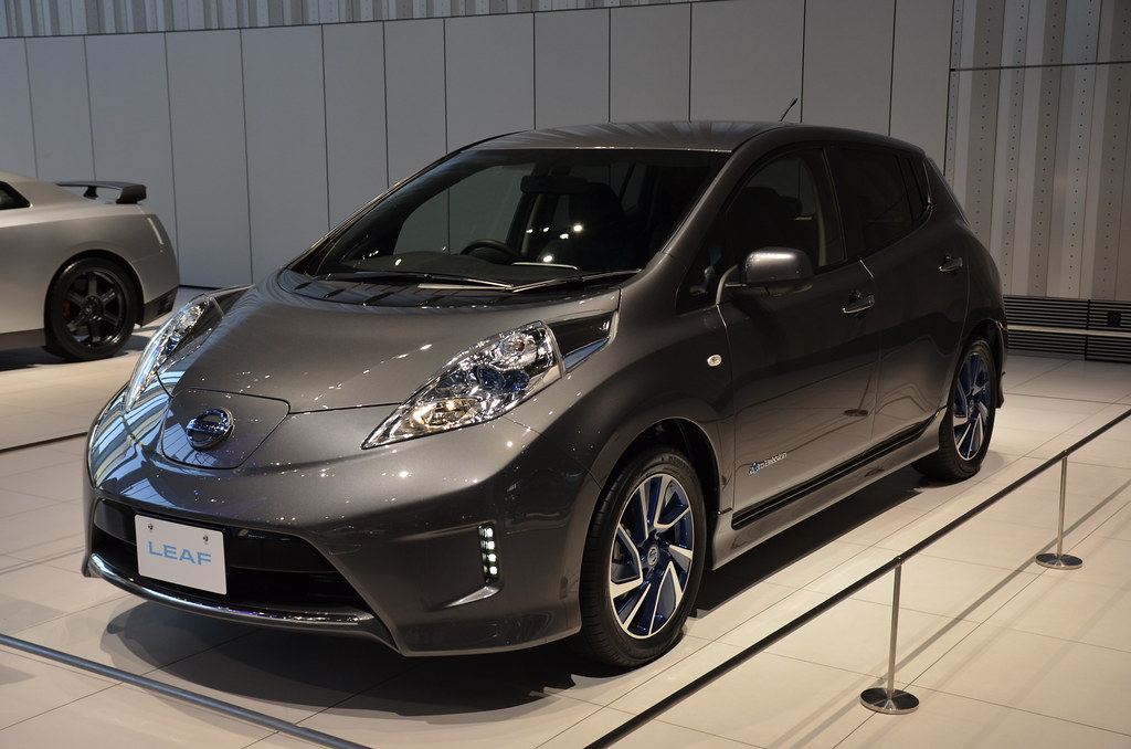 Nissan Leaf Aero Style Nissan Motor Co