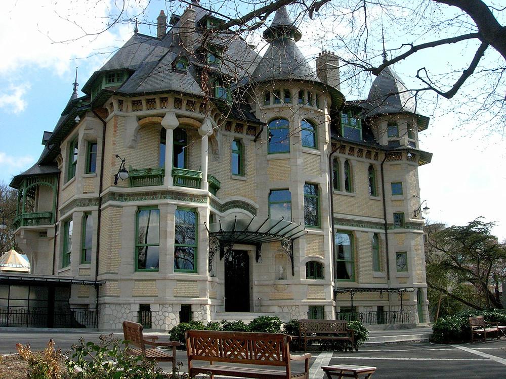 Villa demoiselle reims france joyau de l 39 art nouveau for Deco 7 reims
