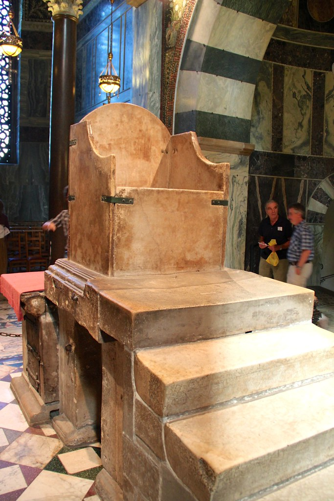 Throne of Charlemagne ...