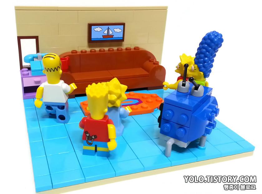 Lego Simpson Living Room Yong Kwan Lim Flickr