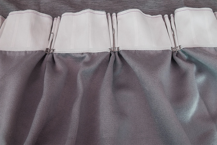 Large Linen Fabric Blockout Curtains 534x230cm Pinch Pleat 2 Panels New 30 Hooks Ebay