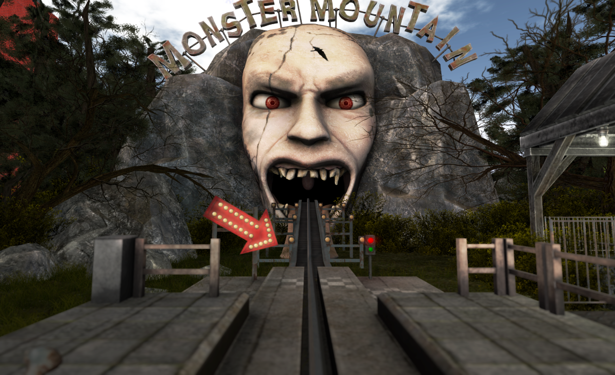 Mad Pea's Mad Monster Mountain: Entrance