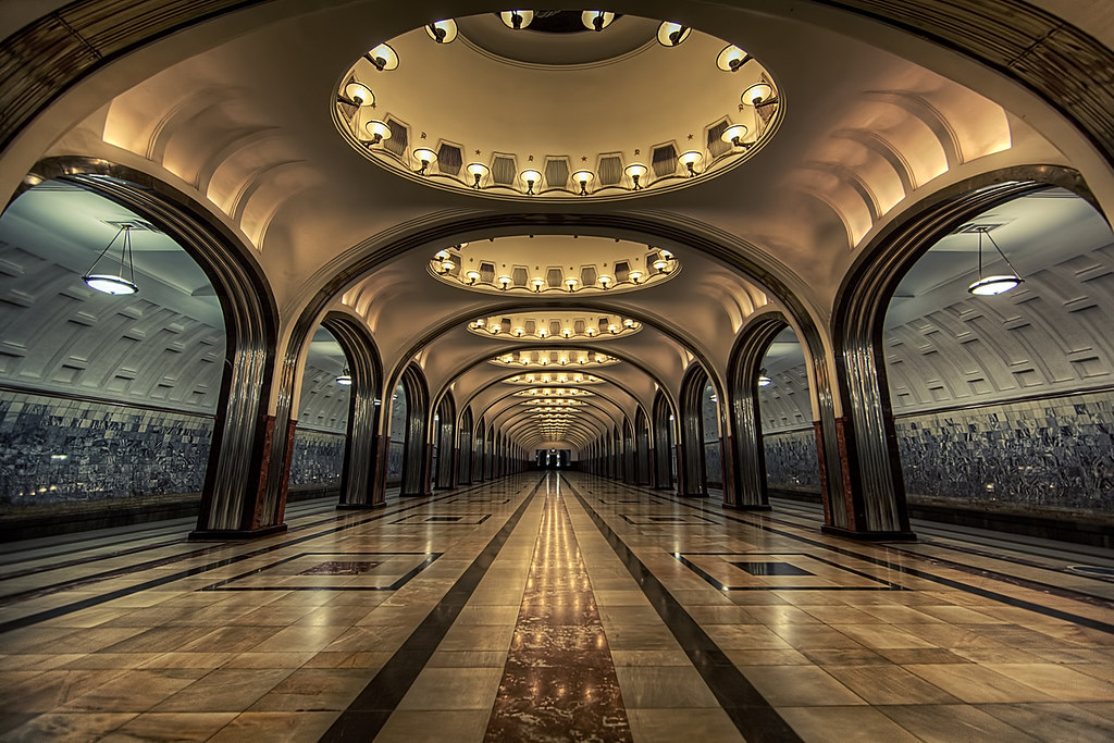 Самая красивая станция метро Москва Список самых